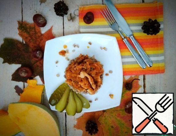 Chicken Fillet in Pumpkin Sauce Recipe