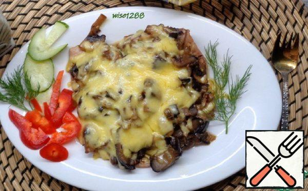 Carbonade with Eggplant and Mushrooms Recipe