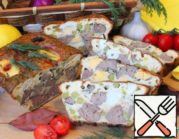 Snack Casserole with Liver and Egg Recipe