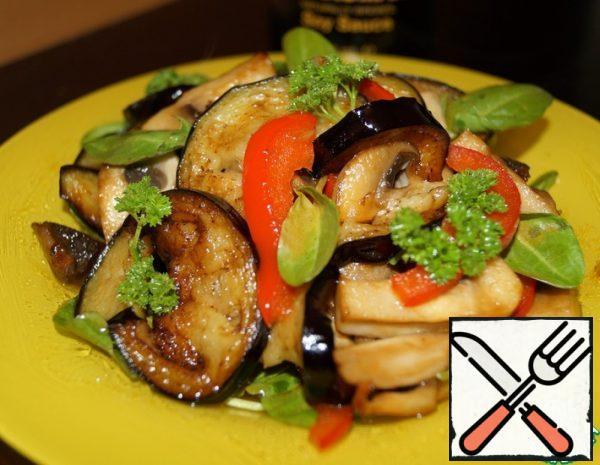 Warm Vegetable Salad with Sorrel Recipe