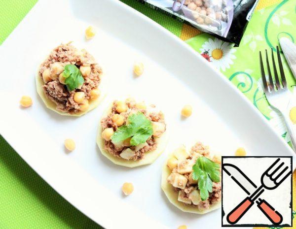 Light Salad with Chickpeas Recipe
