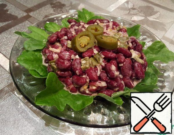 Spicy Salad with Beans Recipe