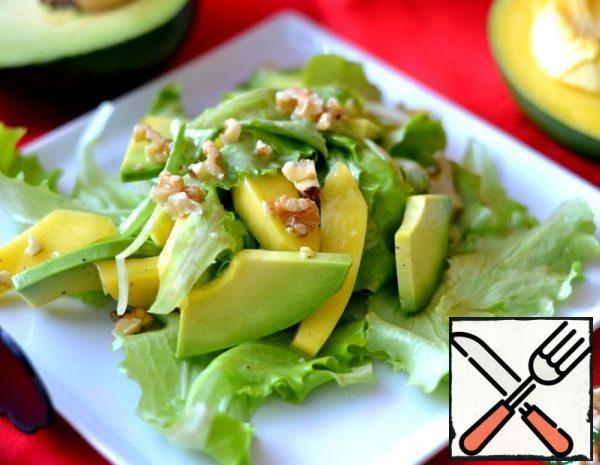 Avocado and Mango Salad Recipe