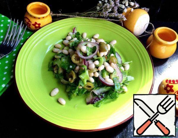 """Salad """"Piquant Beans"""" Recipe"""
