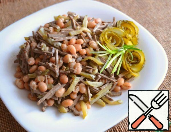 Salad with Beans and Liver Recipe