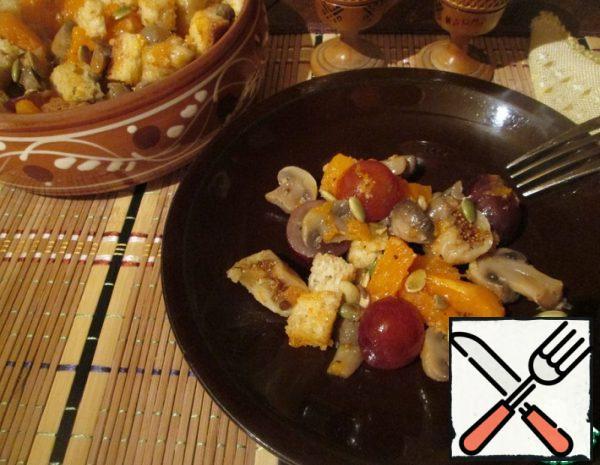 Salad with Pumpkin Recipe