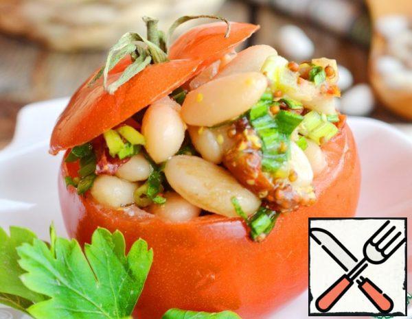 Tomato with Mint Bean Salad Recipe