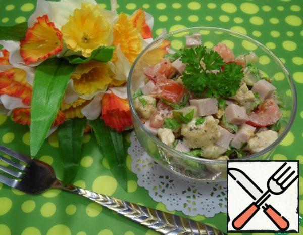 Chicken and Ham Salad Recipe