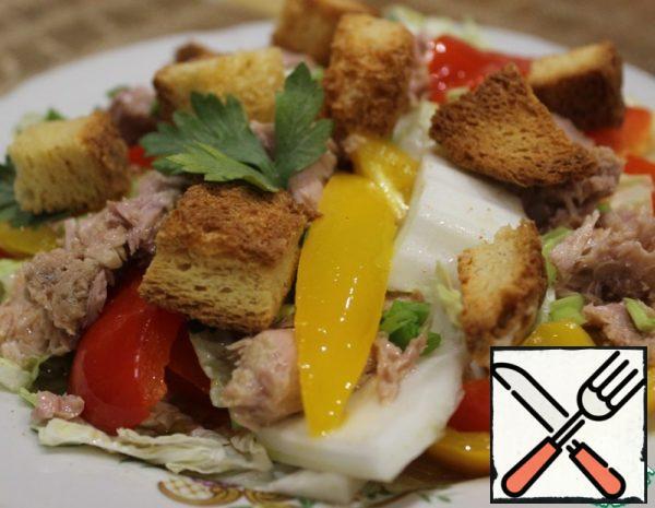 Tuna and Sweet Pepper Salad Recipe