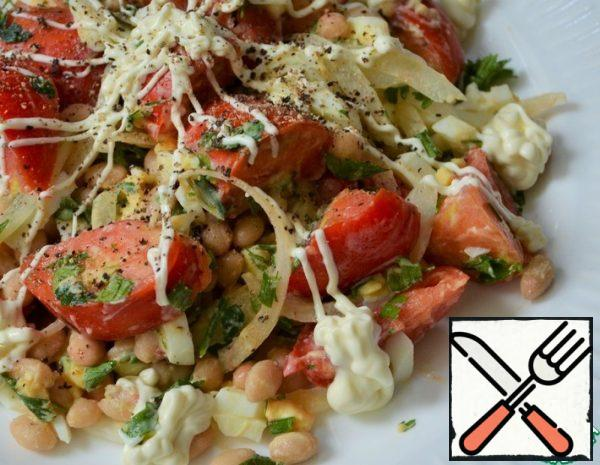 Bean Salad with Tomatoes Recipe