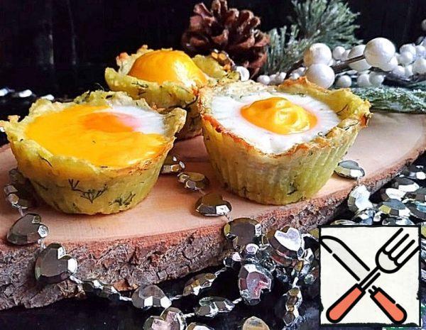 Potato Baskets with Egg Recipe
