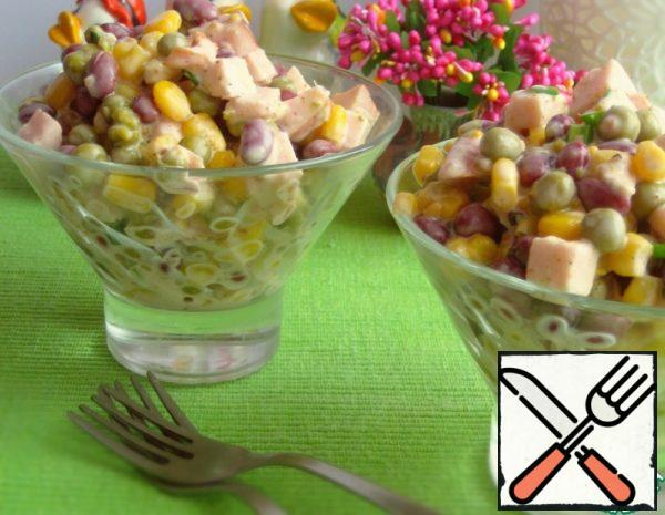 "Salad ""Beans and Grains"" Recipe"