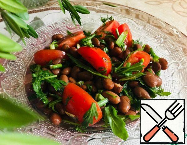 Warm Salad with Beans and Cherry Recipe