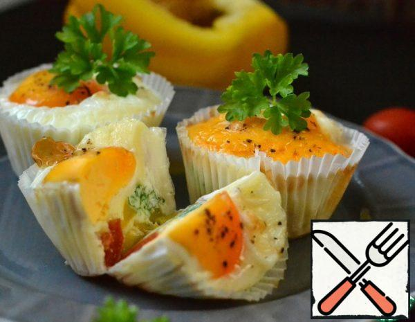 Muffins with Vegetables and Egg Recipe