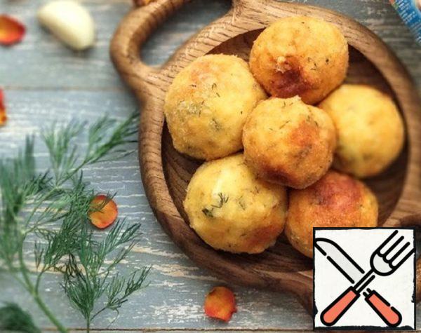 Cheese Balls with Mozzarella Recipe