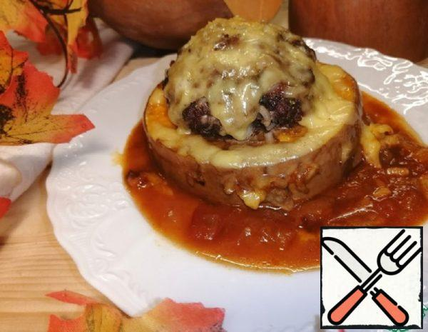 Pumpkin Rings with Minced Meat Recipe
