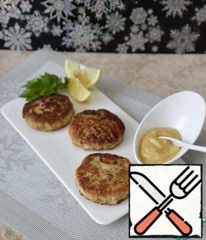 Serve the cutlets hot with sauce, decorate with lemon slices, herbs. Bon Appetit!!!