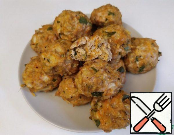 Oatmeal Chicken Meatballs Recipe