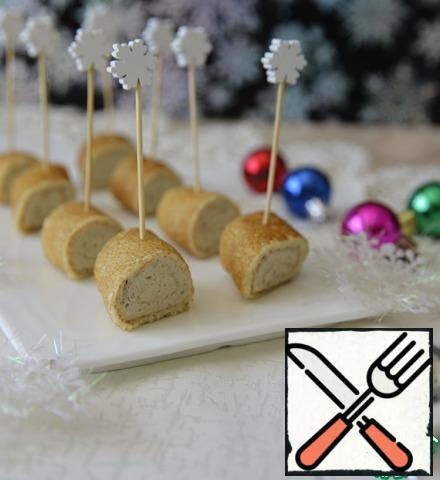 To serve, insert skewers. Happy New Year!!!