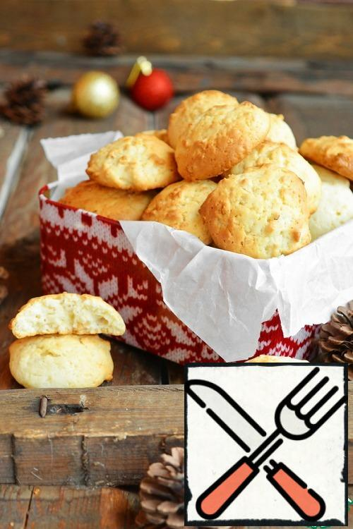 Cool the cookies completely, put them in a tin with a lid or in a container. In this form, it will remain soft for up to 5 days.