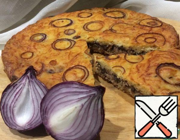 Onion Pie with Tuna Recipe