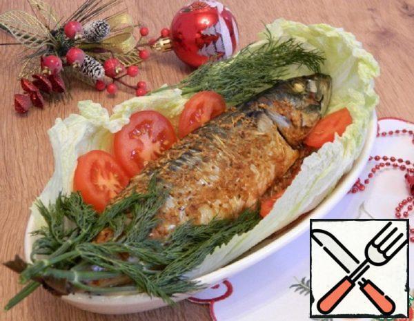 Mackerel, Baked in the Oven Recipe
