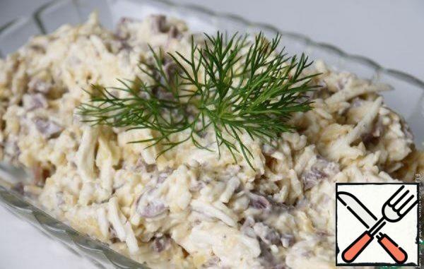 Salad with Mushroom Recipe