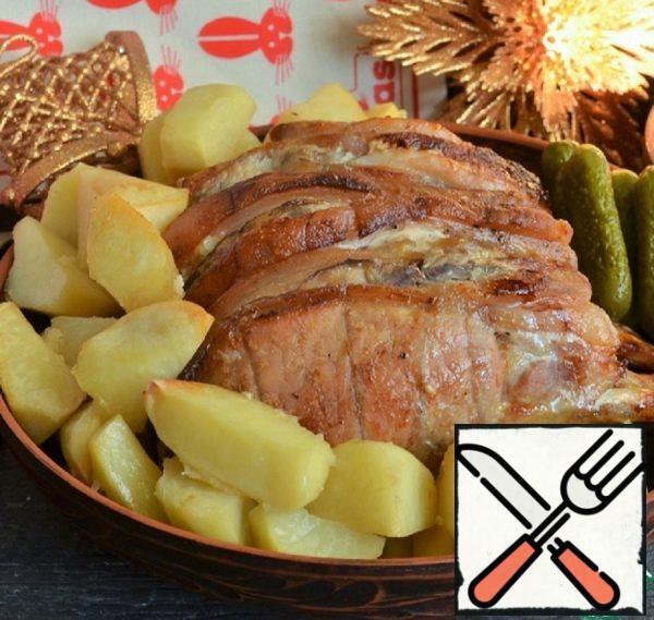 Pork Loin in Mustard-Horseradish Marinade Recipe