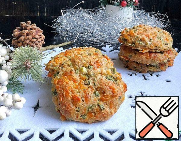 Snack Cookies with Cheese and Onions Recipe