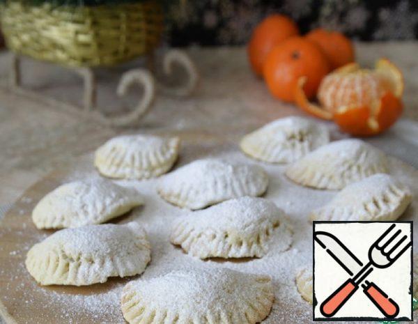 Shortbread Cookies with Mandarins Recipe