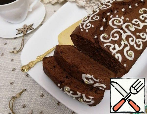 "Chocolate and Coffee Cake ""Winter"" Recipe"