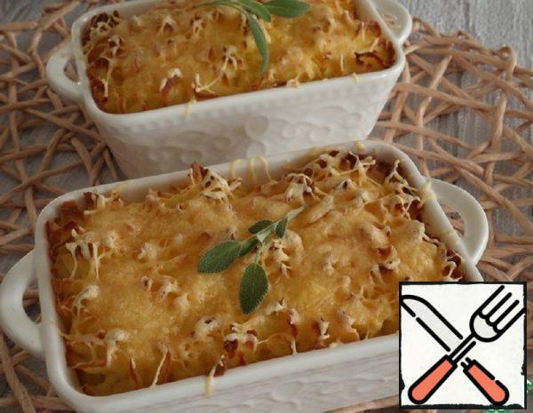 Potato Casserole with Chicken Recipe