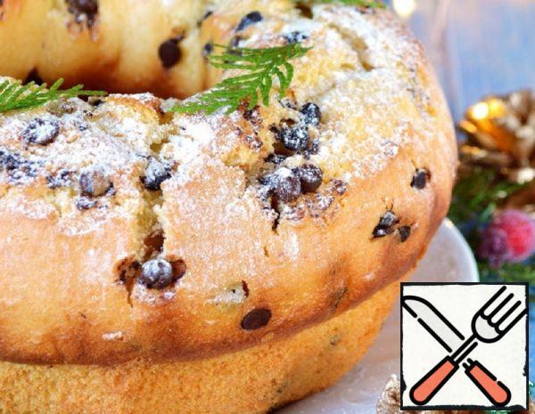 Italian Cupcake with Mascarpone and Chocolate Recipe