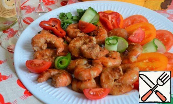 Grilled Shrimp in Mustard Marinade Recipe