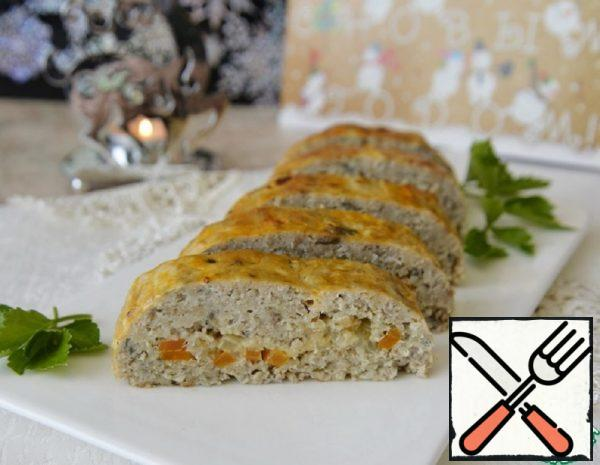 Fish Roll with Carrots and Cheese Recipe
