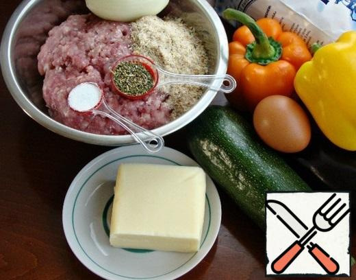 While the dough is suitable, prepare the filling. We will prepare the necessary ingredients for this.