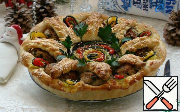 """Snack Pie """"Happy New Year!"""" Recipe"""