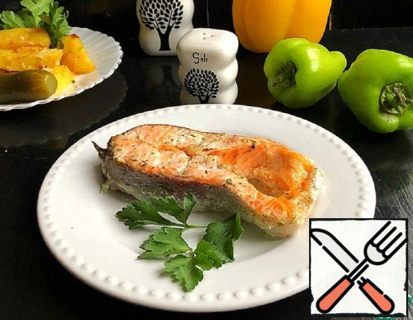 Trout Baked with Cottage Cheese Recipe