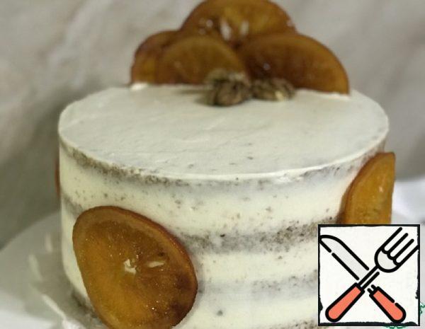 Buckwheat Cake with Prunes and Pears Recipe