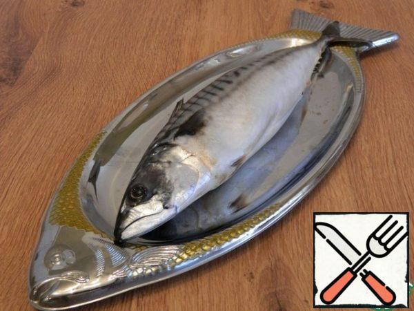 Let's cook the mackerel.