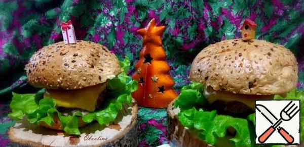 Homemade Cheeseburger with Spicy Sauce Recipe