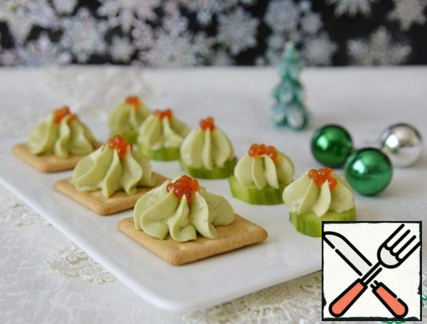Serve the appetizer. All the best to you in the New Year!