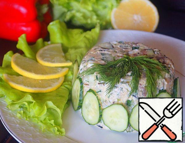 Salad with smoked Fish Recipe