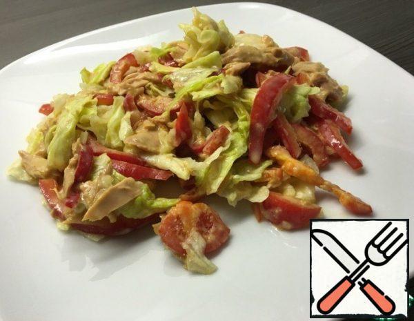Tuna Salad with Curry Sauce Recipe