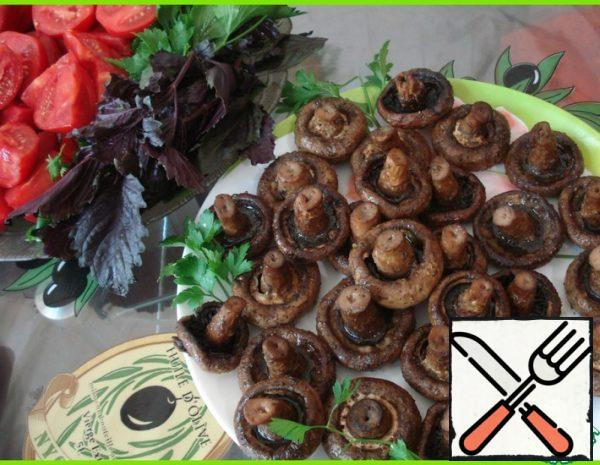 Baked Mushrooms Recipe