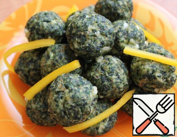 Balls of Spinach Recipe