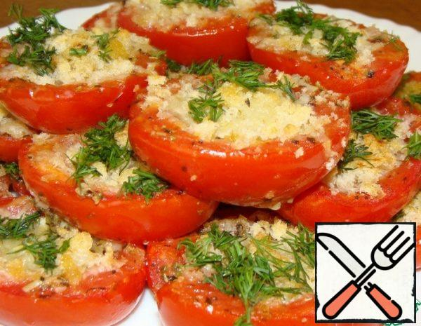 Snack Tomatoes with an Italian Accent Recipe