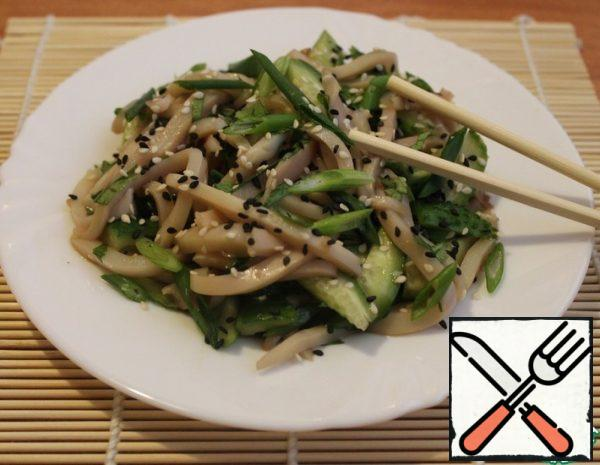 Asian-Style Squid Salad Recipe