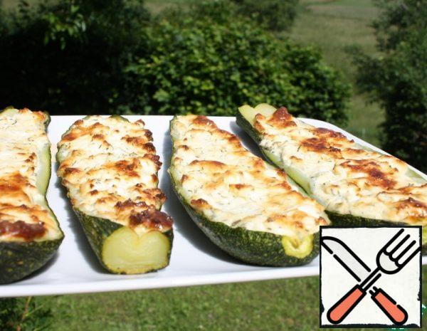 Zucchini with Cheese Recipe