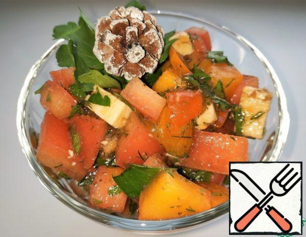 Salad with Persimmon Recipe